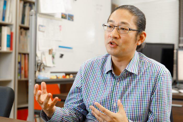 研究室探訪・富田泰輔教授