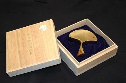 東大総長賞 受賞者に贈られる記念品