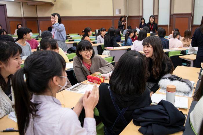 11月女子対象説明会 座談会